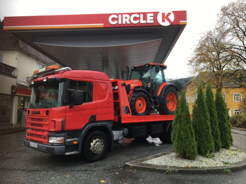 Traktormannen - eigen bergingsbil