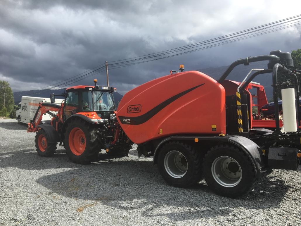 Orkel Direkte - Traktormannen